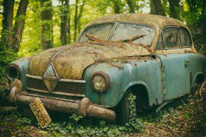 Rénovation de voiture ancienne